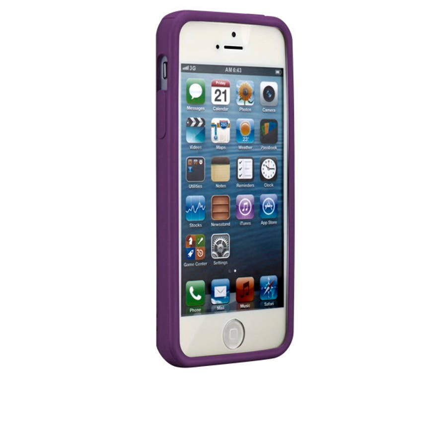 iPhone SE/5s/5 対応ケース Cloud Case, Magic Purple 2
