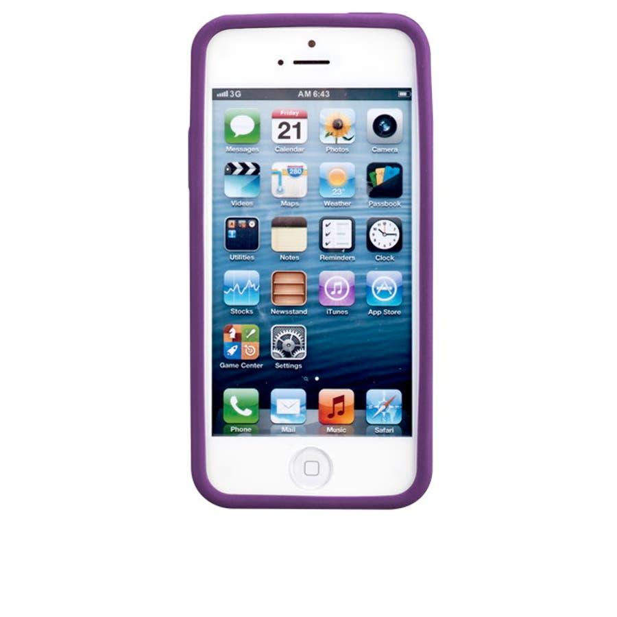 iPhone SE/5s/5 対応ケース Cloud Case, Magic Purple 4
