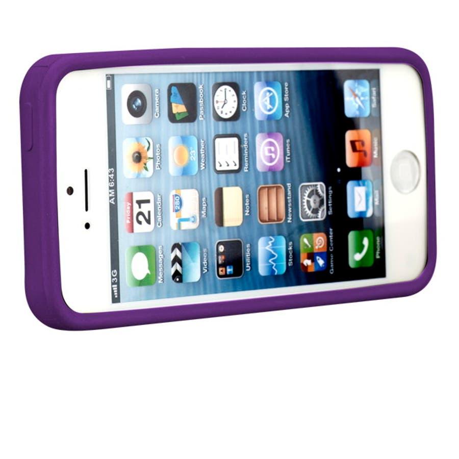 iPhone SE/5s/5 対応ケース Cloud Case, Magic Purple 7