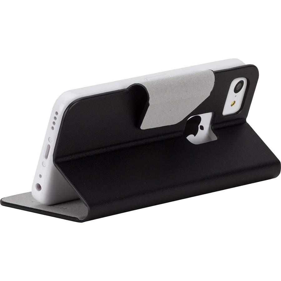 iPhone 5c 対応ケースSlim Folio Case, Black 4