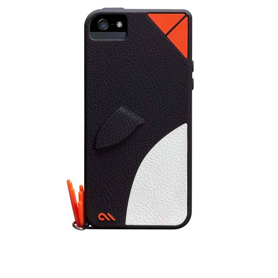 iPhone SE/5s/5 対応ケース Creatures: Waddler Case, Black 1