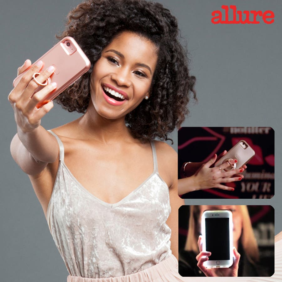 iPhone SE(第2世代)/8/7/6s/6対応ケース Allure Selfie Case Black 1