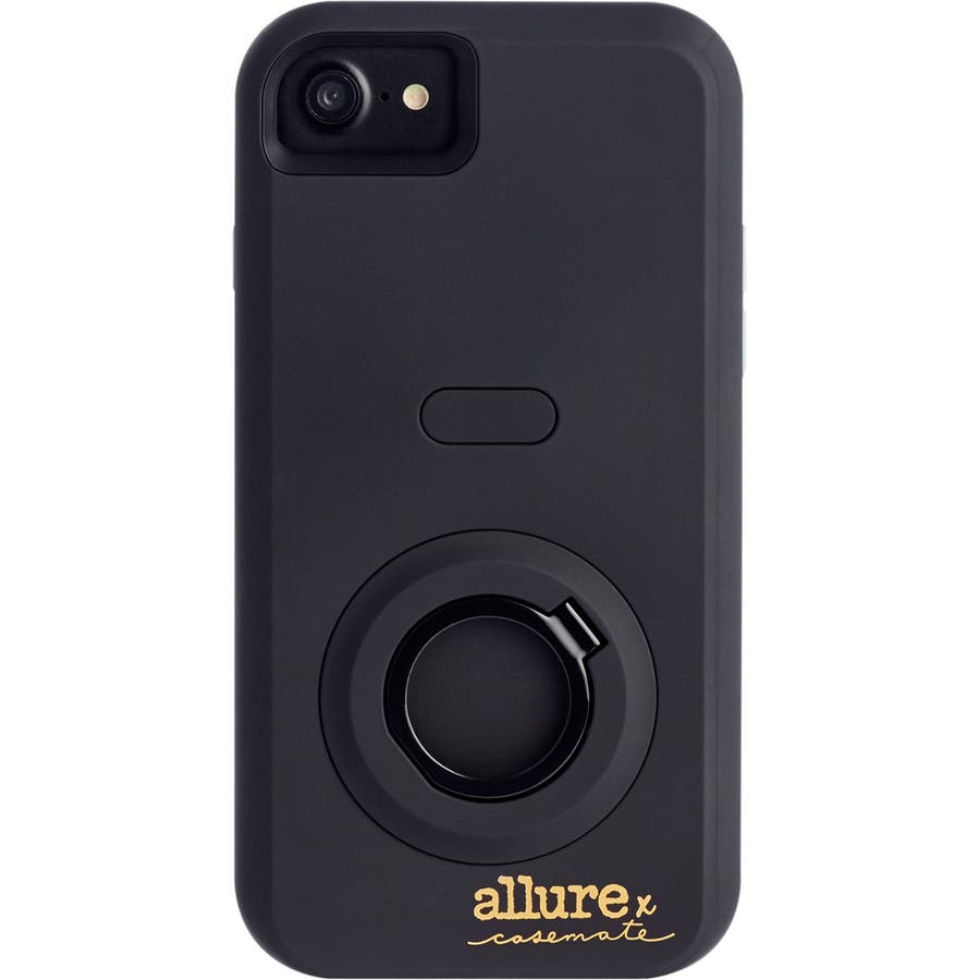 iPhone SE(第2世代)/8/7/6s/6対応ケース Allure Selfie Case Black 3