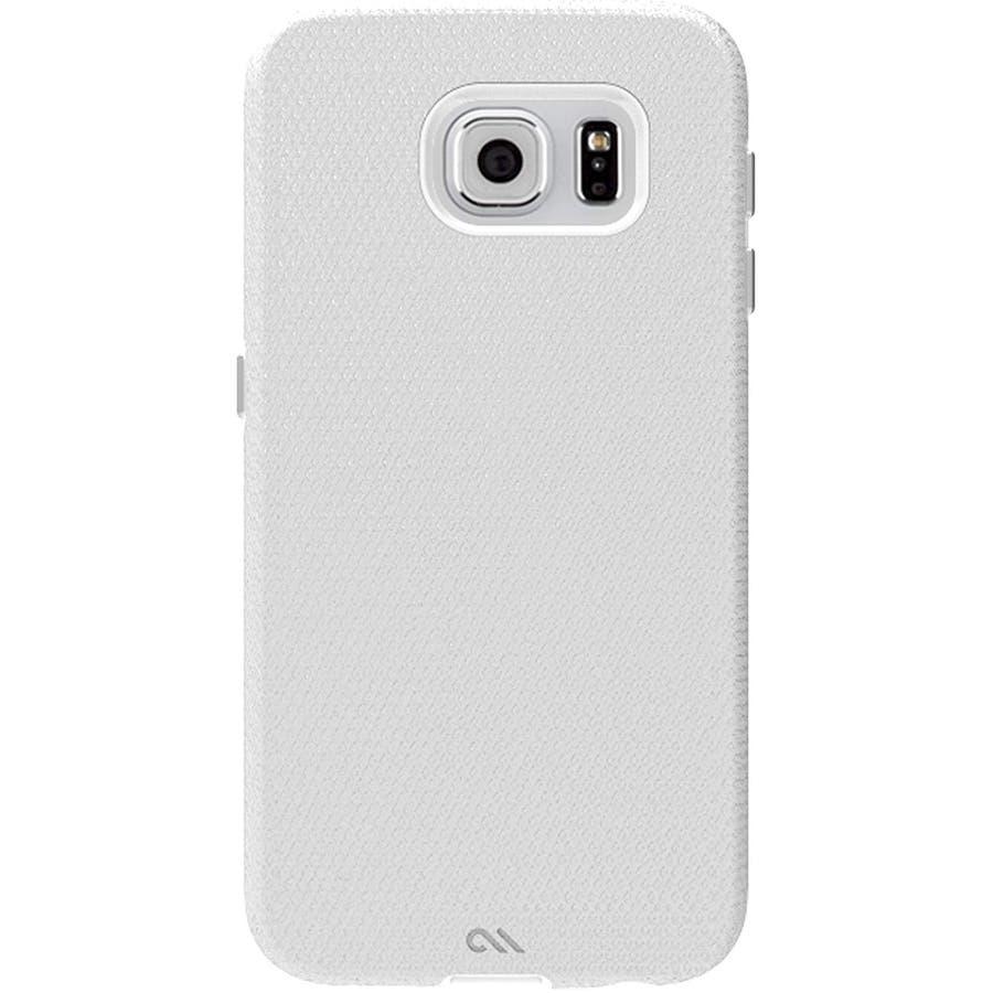 Galaxy S6 対応ケース Hybrid Tough Case,Pearl White / Clear 2
