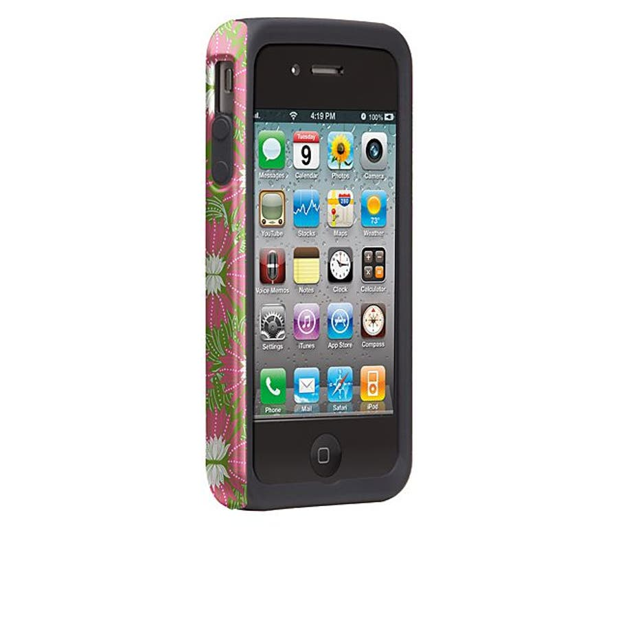 iPhone 4S/4 対応ケース Hybrid Tough Case, Hara Pila Garden/Hollhi 3