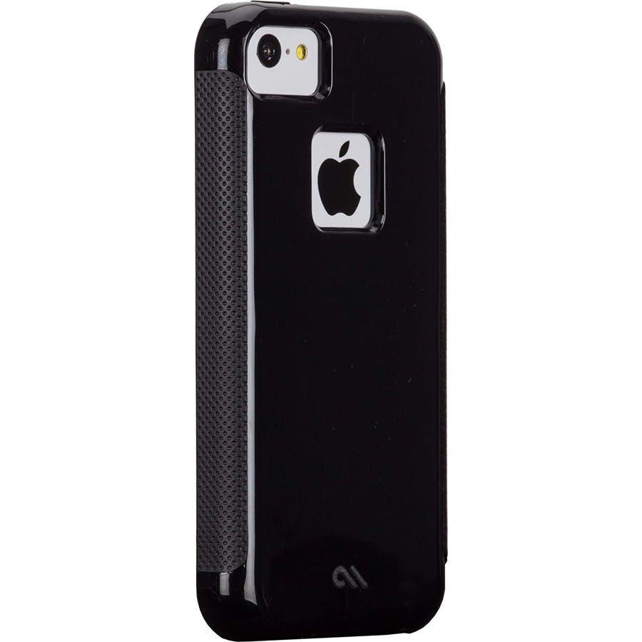 iPhone 5c 対応ケースPOP! with Stand Case, Black / Black 1