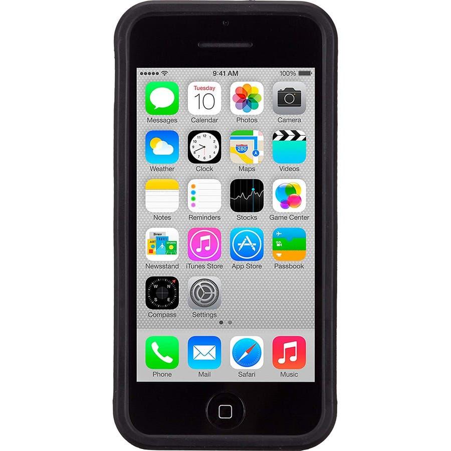 iPhone 5c 対応ケースPOP! with Stand Case, Black / Black 4