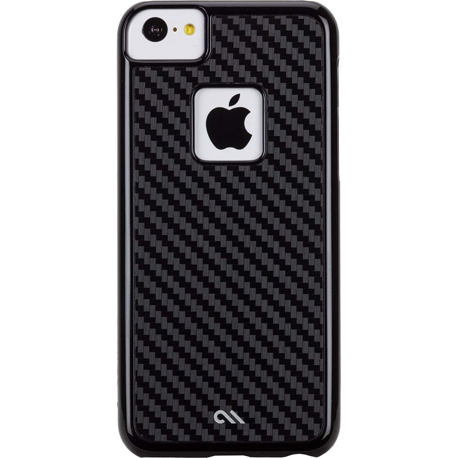 iPhone 5c 対応ケースBarely There Case, Carbon Style 1