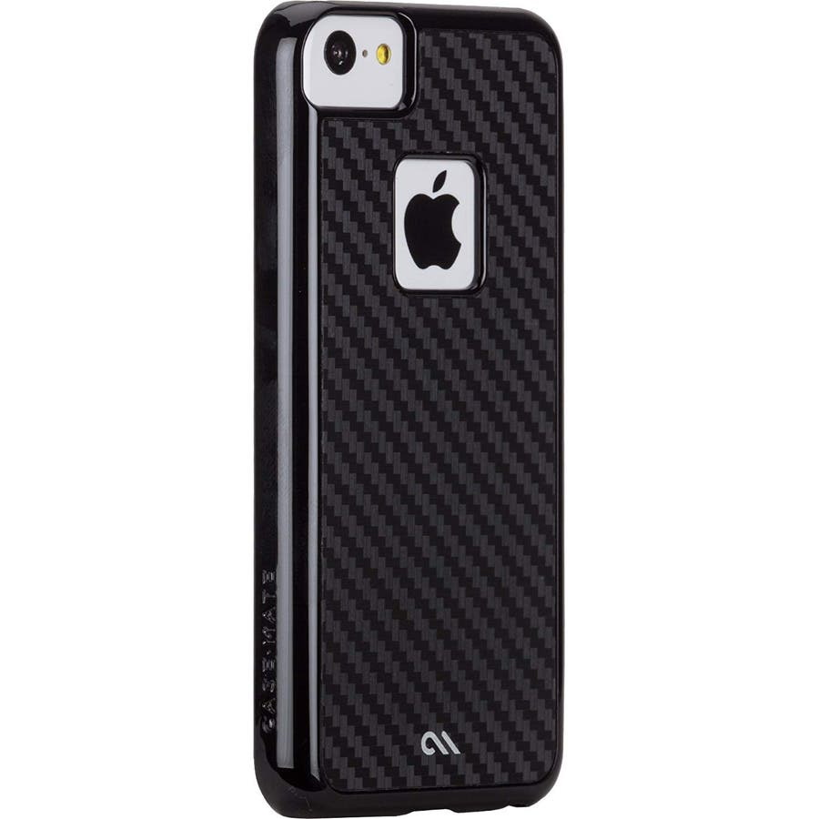 iPhone 5c 対応ケースBarely There Case, Carbon Style 3