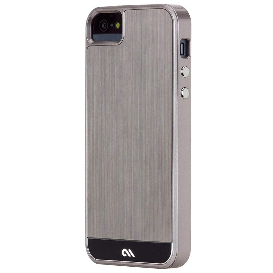 iPhone SE/5s/5 対応ケース Crafted Case Brushed Alminum, Gunmetal / Black 2