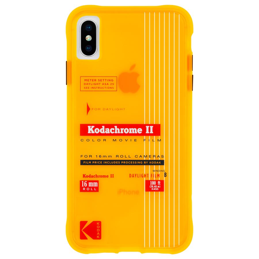 【Case-Mate×Kodak コラボレーション】 iPhone X/XS Case Kodak VintageKodachromeII Print 1