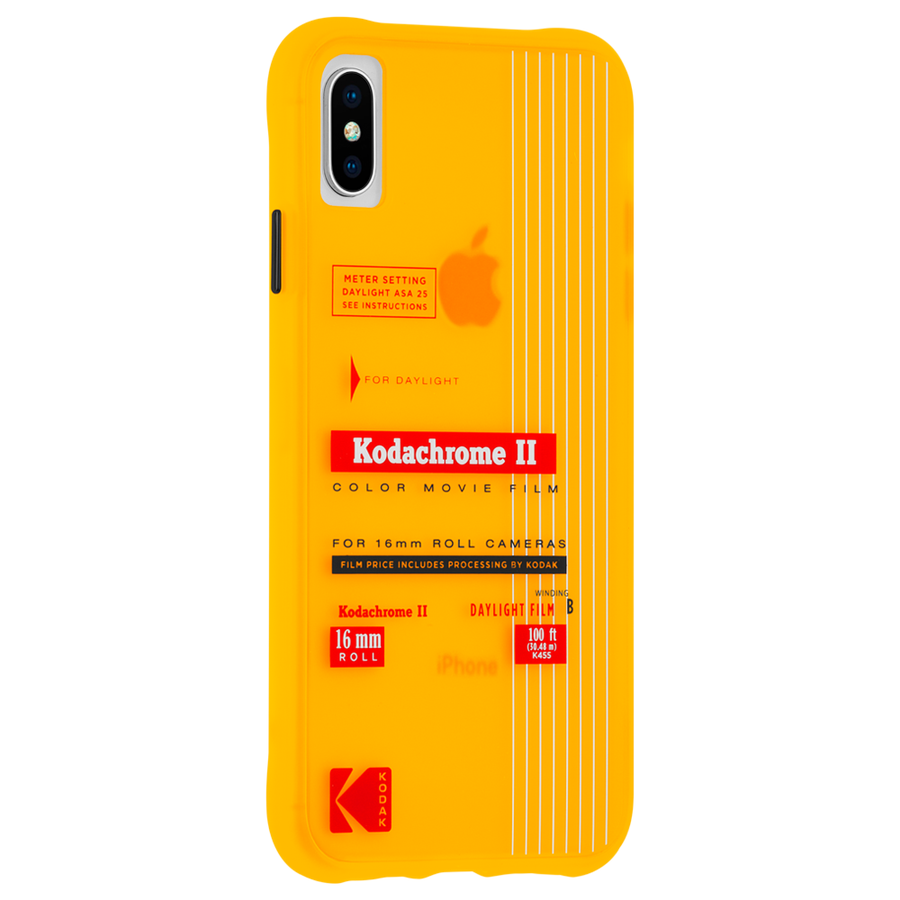 【Case-Mate×Kodak コラボレーション】 iPhone X/XS Case Kodak VintageKodachromeII Print 2