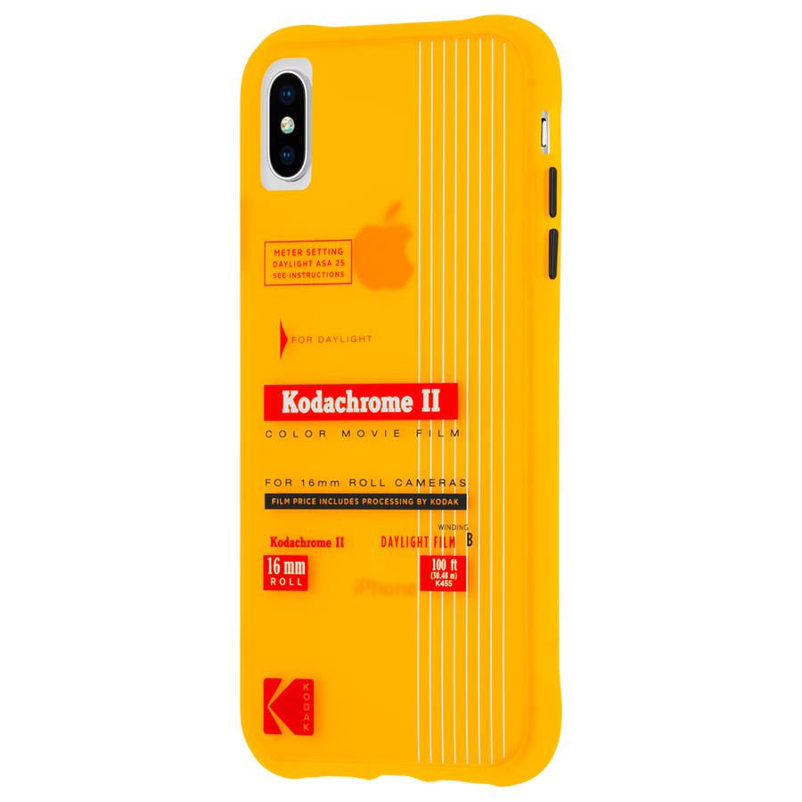 【Case-Mate×Kodak コラボレーション】 iPhone X/XS Case Kodak VintageKodachromeII Print 3