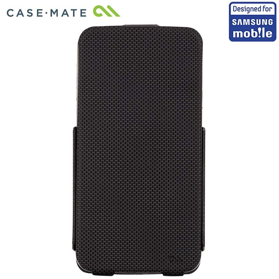 Galaxy S5 対応ケース Slim Flip Case, Black 3