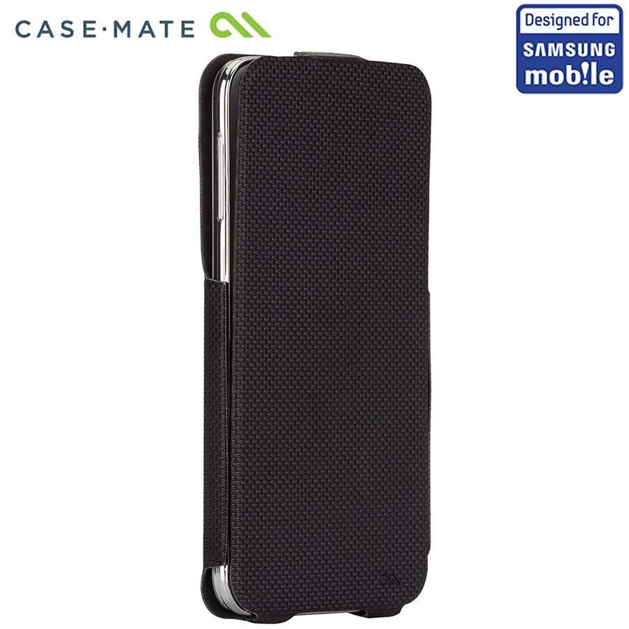Galaxy S5 対応ケース Slim Flip Case, Black 5