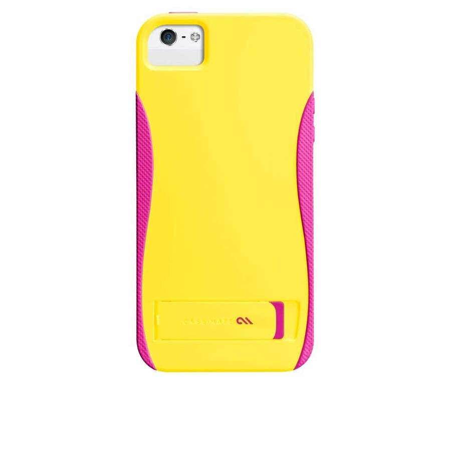iPhone SE/5s/5 対応ケース POP! with Stand Case, Solar Yellow/Neon Pink 1