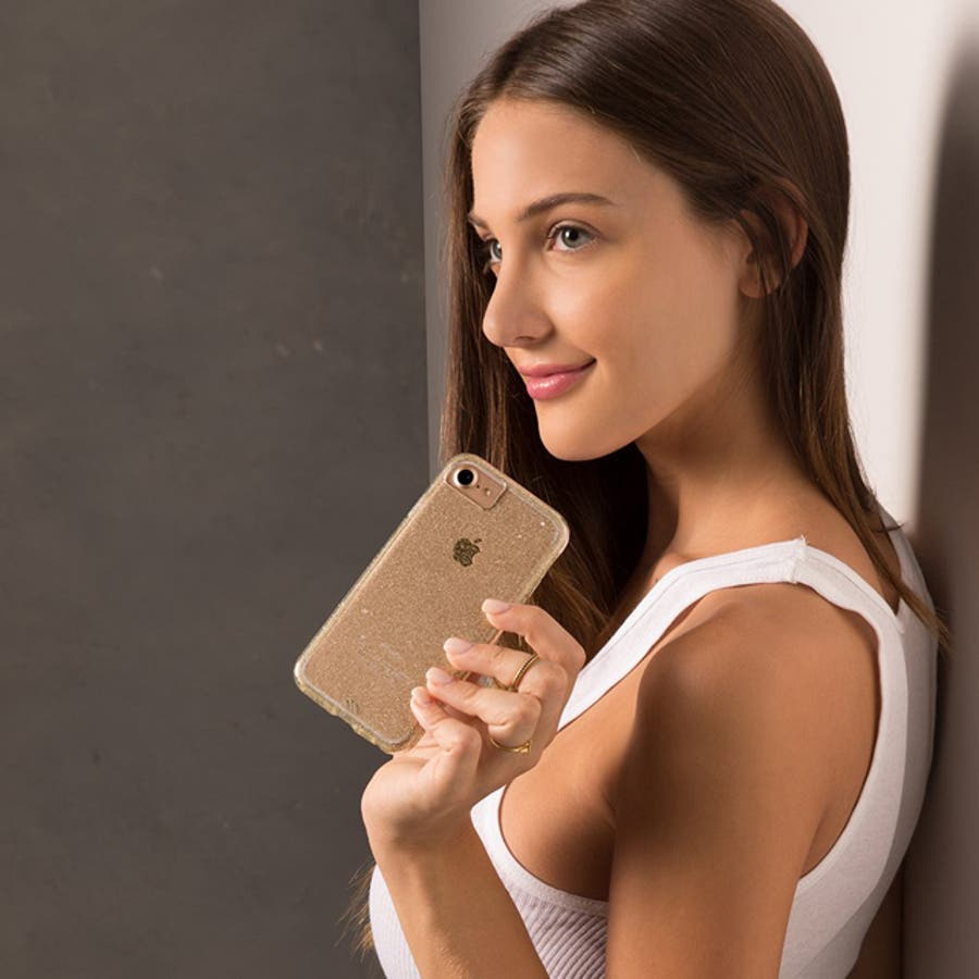 iPhone8 Plus / 7 Plus / 6s Plus / 6 Plus対応ケース Sheer GlamChampagne 1