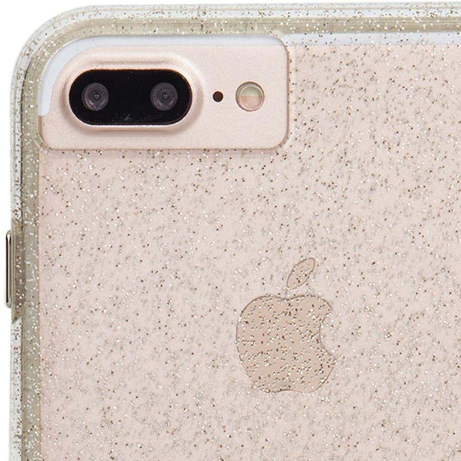 iPhone8 Plus / 7 Plus / 6s Plus / 6 Plus対応ケース Sheer GlamChampagne 3