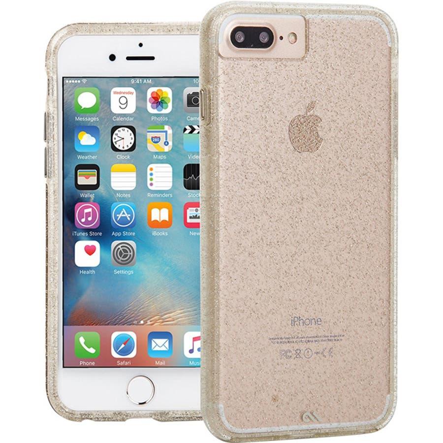 iPhone8 Plus / 7 Plus / 6s Plus / 6 Plus対応ケース Sheer GlamChampagne 4