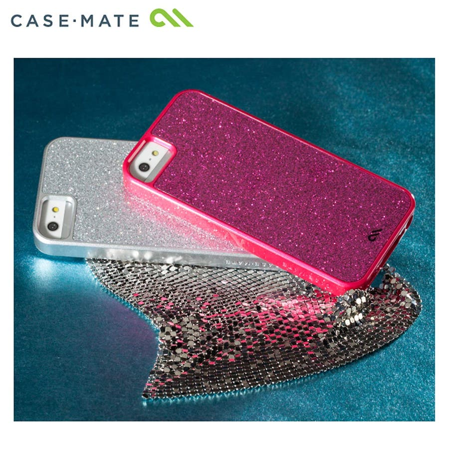 """iPhone SE/5s/5 対応ケース Barely There Case """"Glimmer"""", Violet 1"""