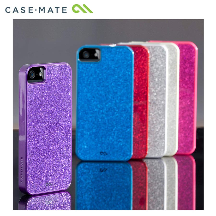 """iPhone SE/5s/5 対応ケース Barely There Case """"Glimmer"""", Violet 2"""