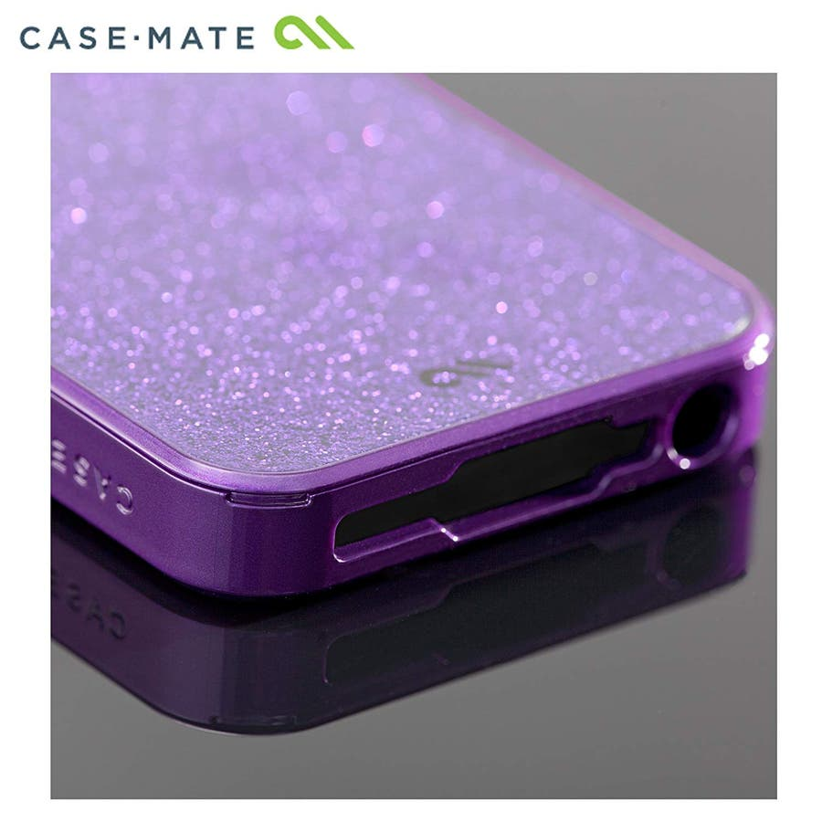 """iPhone SE/5s/5 対応ケース Barely There Case """"Glimmer"""", Violet 3"""