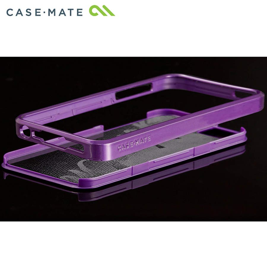 """iPhone SE/5s/5 対応ケース Barely There Case """"Glimmer"""", Violet 4"""