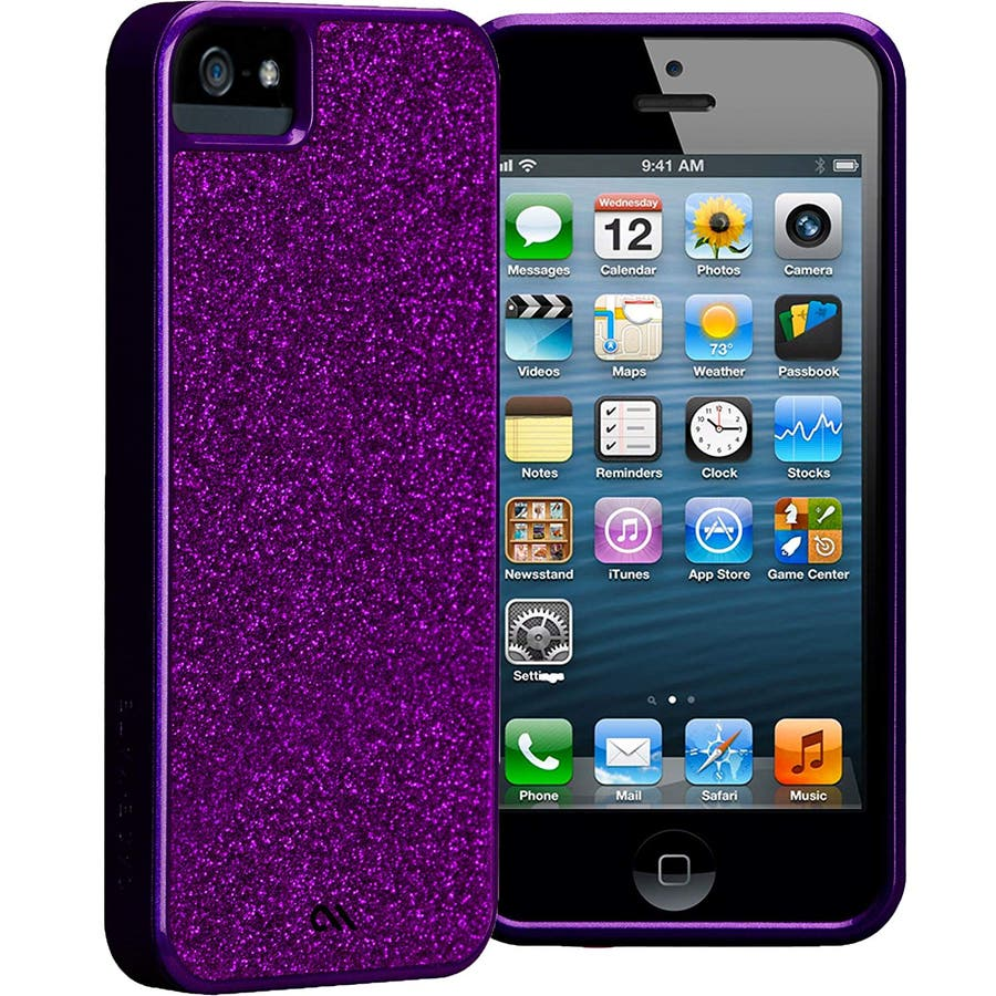 """iPhone SE/5s/5 対応ケース Barely There Case """"Glimmer"""", Violet 6"""