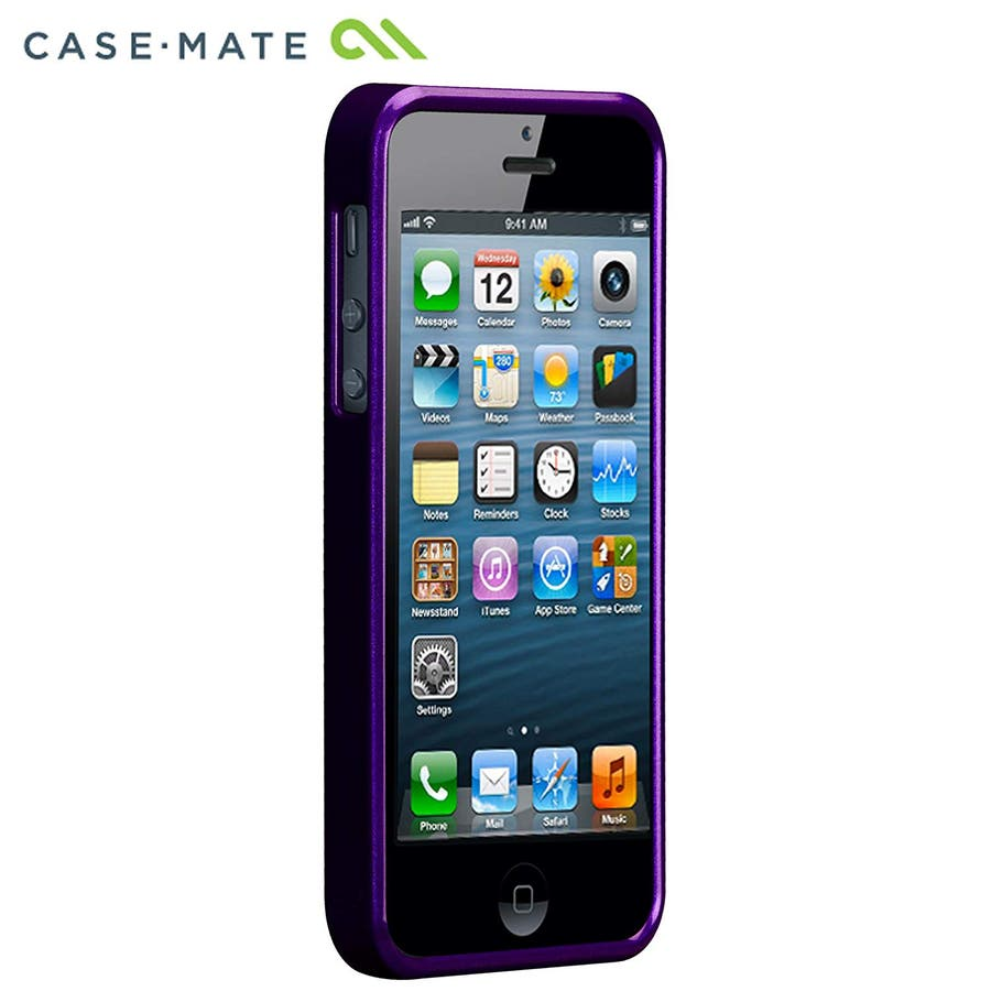 """iPhone SE/5s/5 対応ケース Barely There Case """"Glimmer"""", Violet 7"""