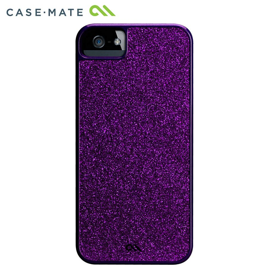 """iPhone SE/5s/5 対応ケース Barely There Case """"Glimmer"""", Violet 8"""