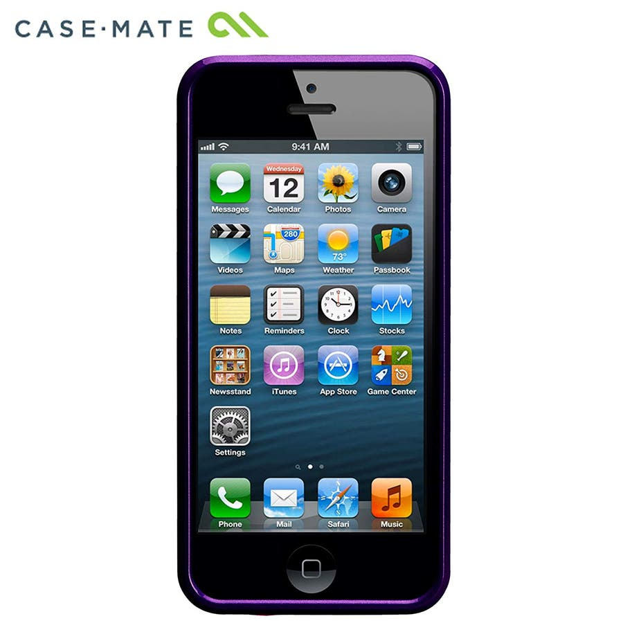 """iPhone SE/5s/5 対応ケース Barely There Case """"Glimmer"""", Violet 9"""