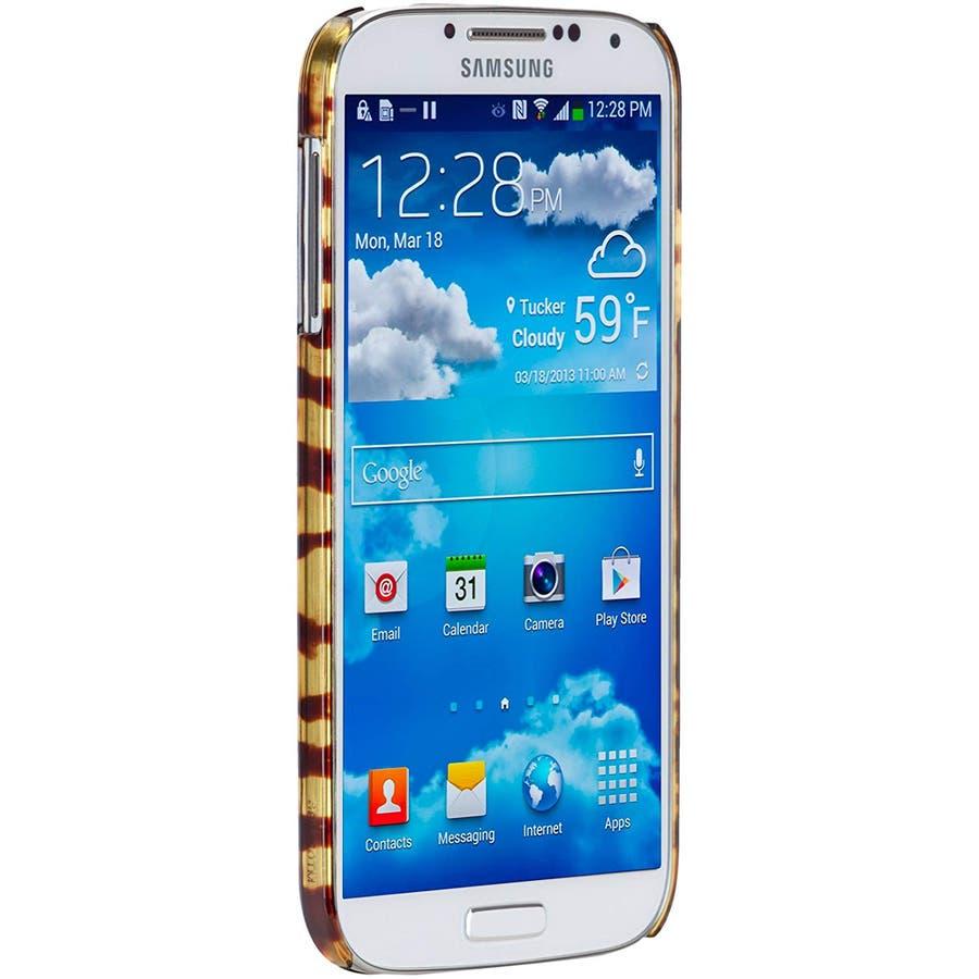Galaxy S4 対応ケース Tortoise Shell Case, Brown 2