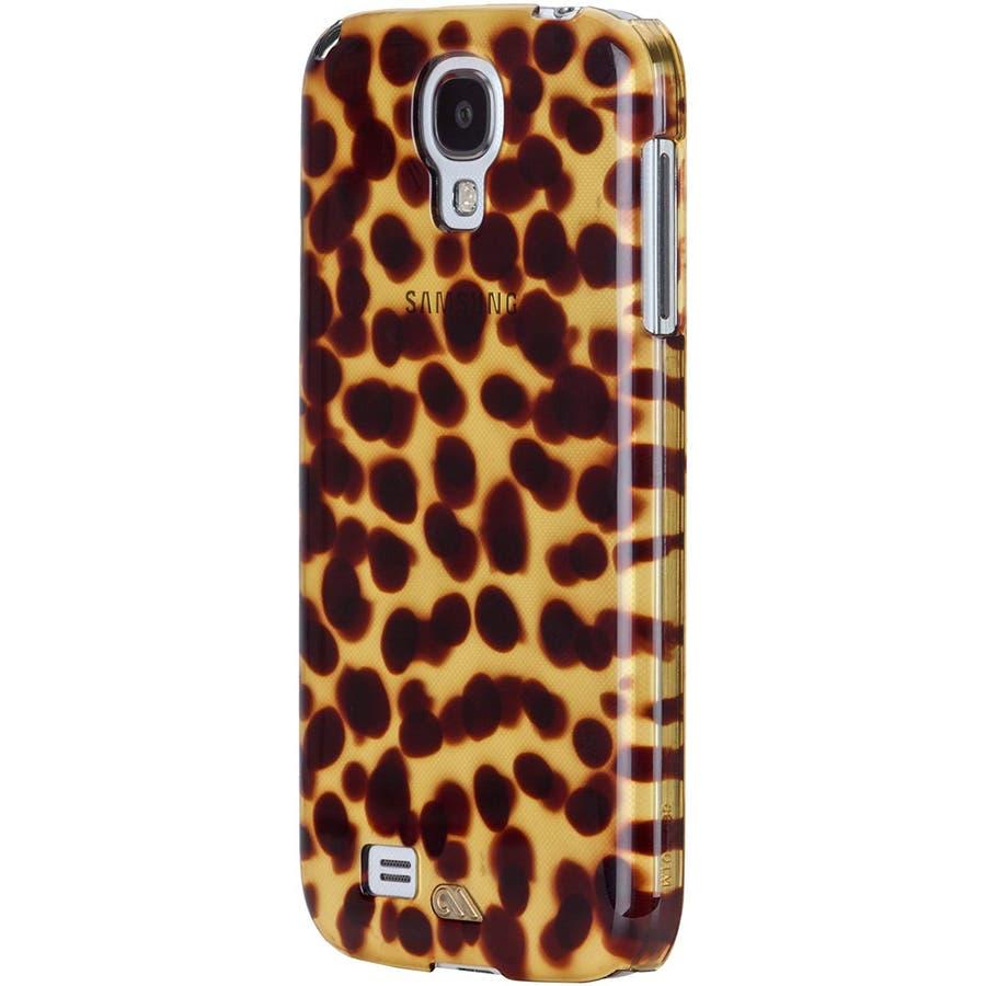 Galaxy S4 対応ケース Tortoise Shell Case, Brown 3