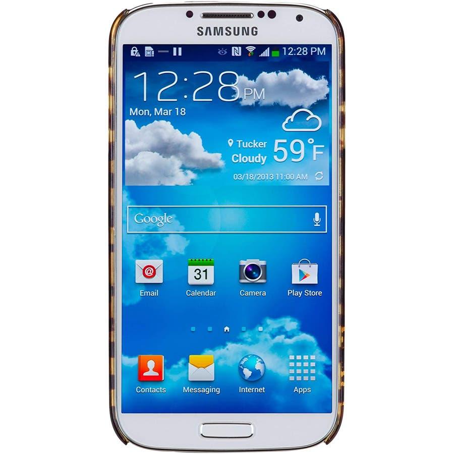 Galaxy S4 対応ケース Tortoise Shell Case, Brown 4