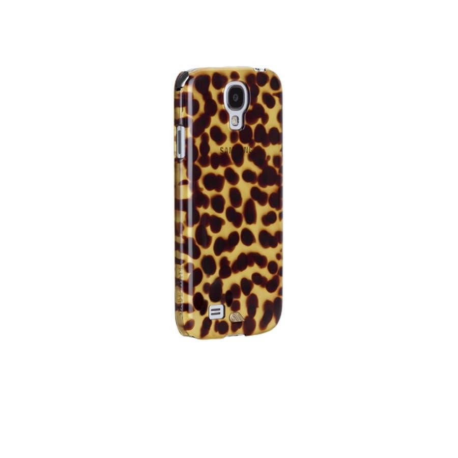 Galaxy S4 対応ケース Tortoise Shell Case, Brown 5