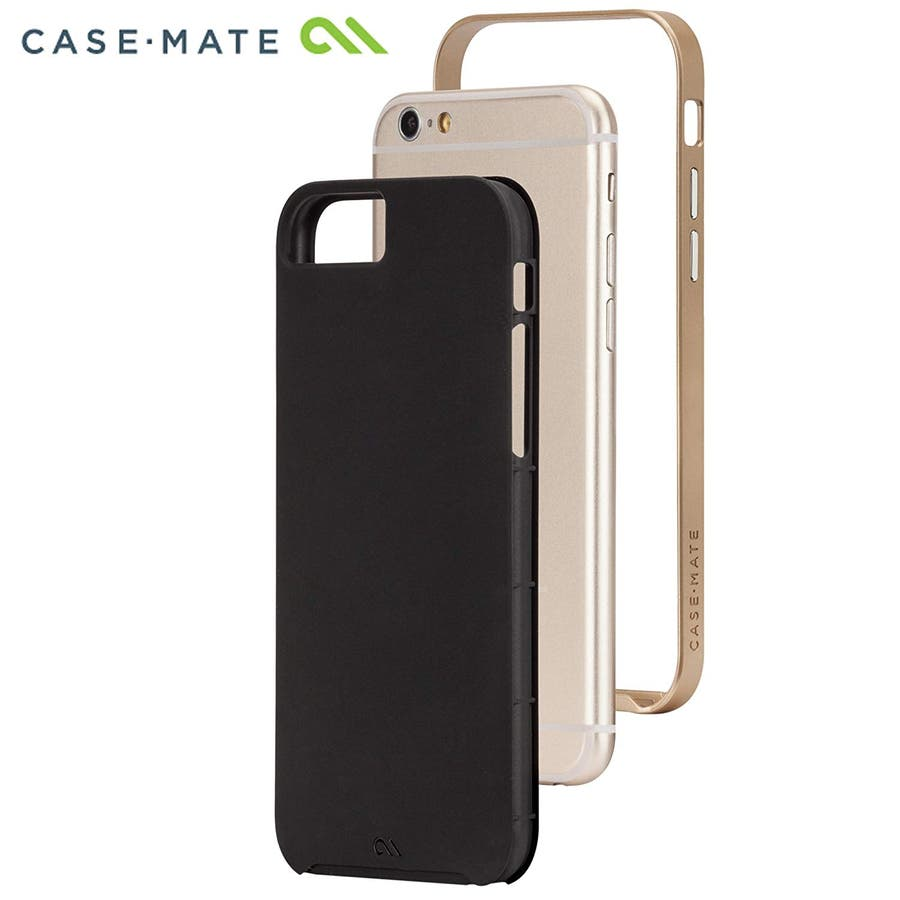 iPhone6s/6 対応ケース Slim Tough Case, Black / Gold 2