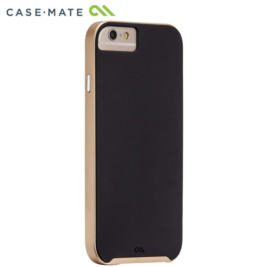 iPhone6s/6 対応ケース Slim Tough Case, Black / Gold 3