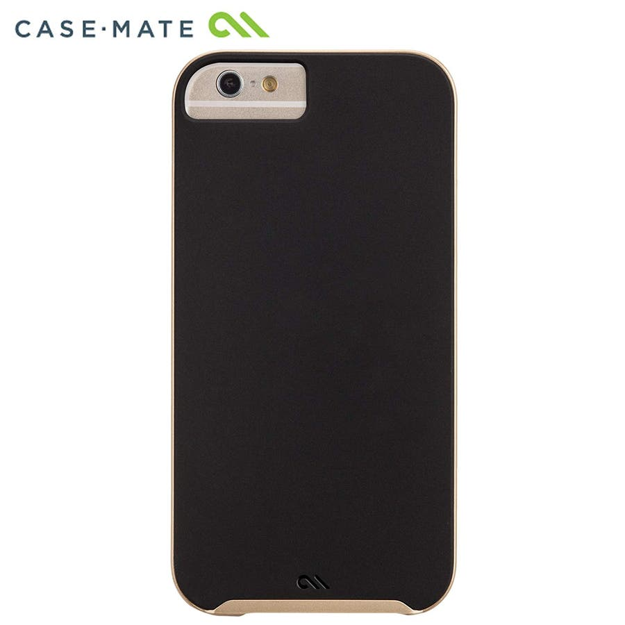 iPhone6s/6 対応ケース Slim Tough Case, Black / Gold 4