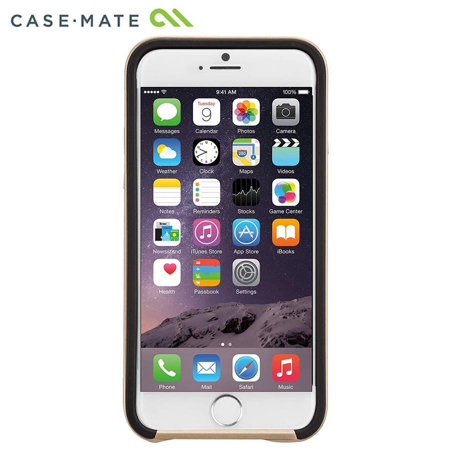 iPhone6s/6 対応ケース Slim Tough Case, Black / Gold 6