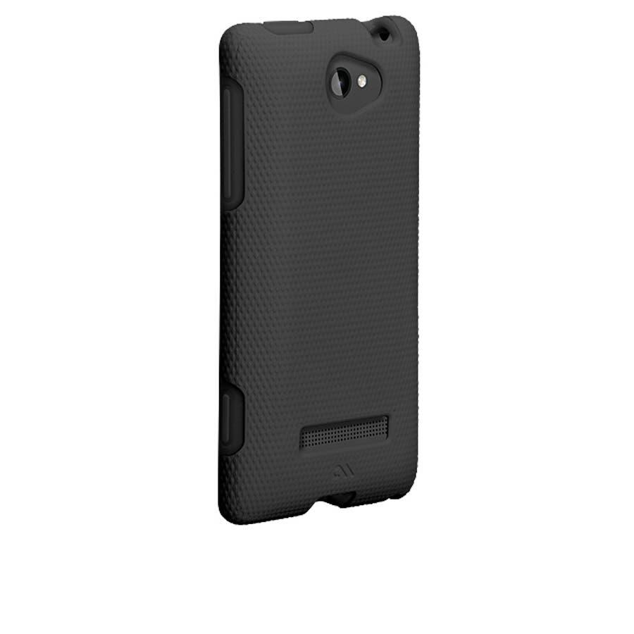 HTC 8S 対応ケースHybrid Tough Case, Black / Black 1