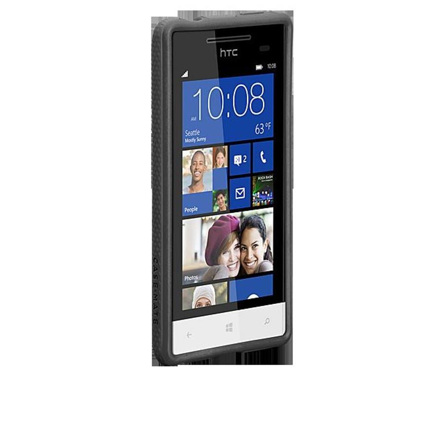 HTC 8S 対応ケースHybrid Tough Case, Black / Black 2