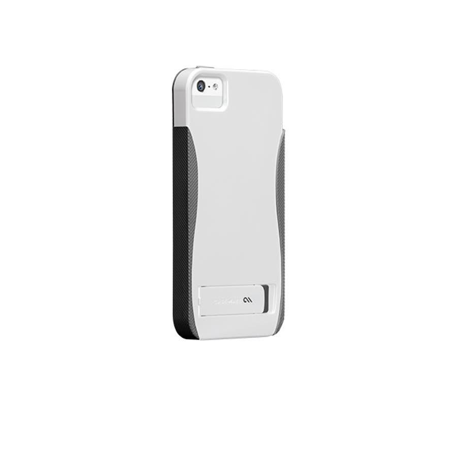 iPhone SE/5s/5 対応ケース POP! with Stand Case, White/ Titanium 1