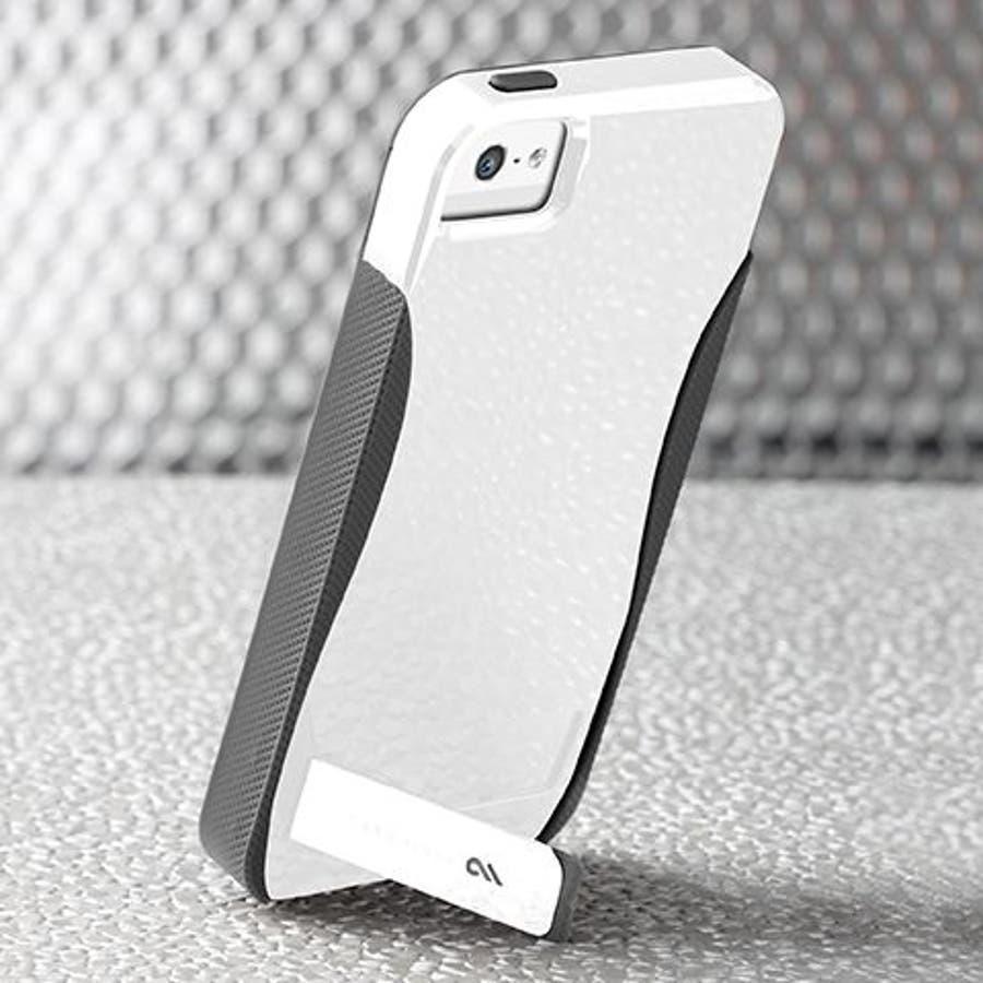 iPhone SE/5s/5 対応ケース POP! with Stand Case, White/ Titanium 4