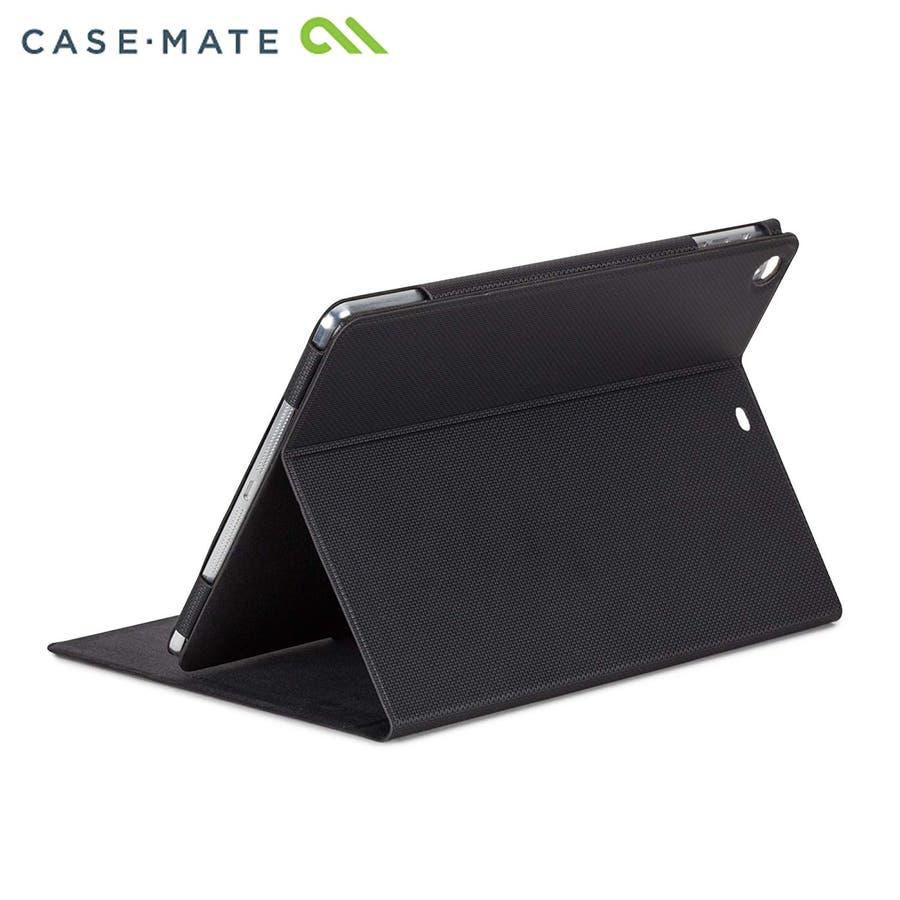 iPad Air (iPad5)対応 スリムタイプケース, ブラック 1