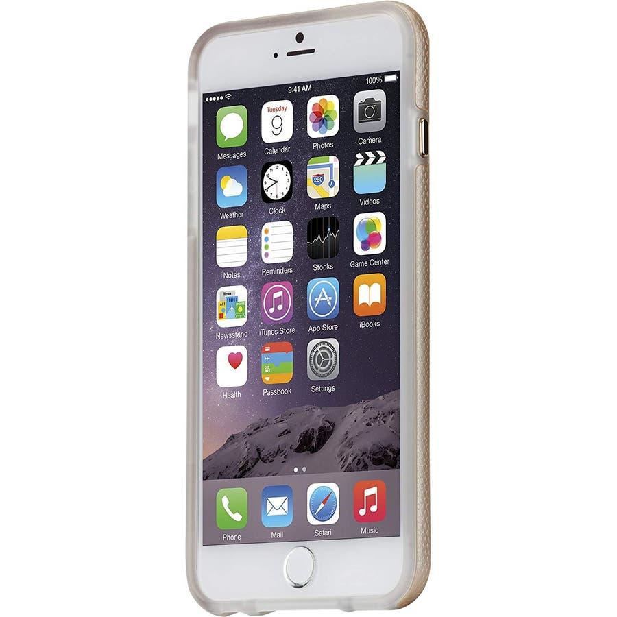 iPhone6s Plus/6 Plus 対応ケース Hybrid Tough Case, Gold / Clear 3