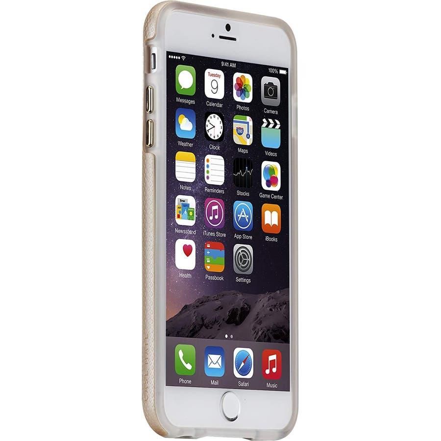 iPhone6s Plus/6 Plus 対応ケース Hybrid Tough Case, Gold / Clear 6