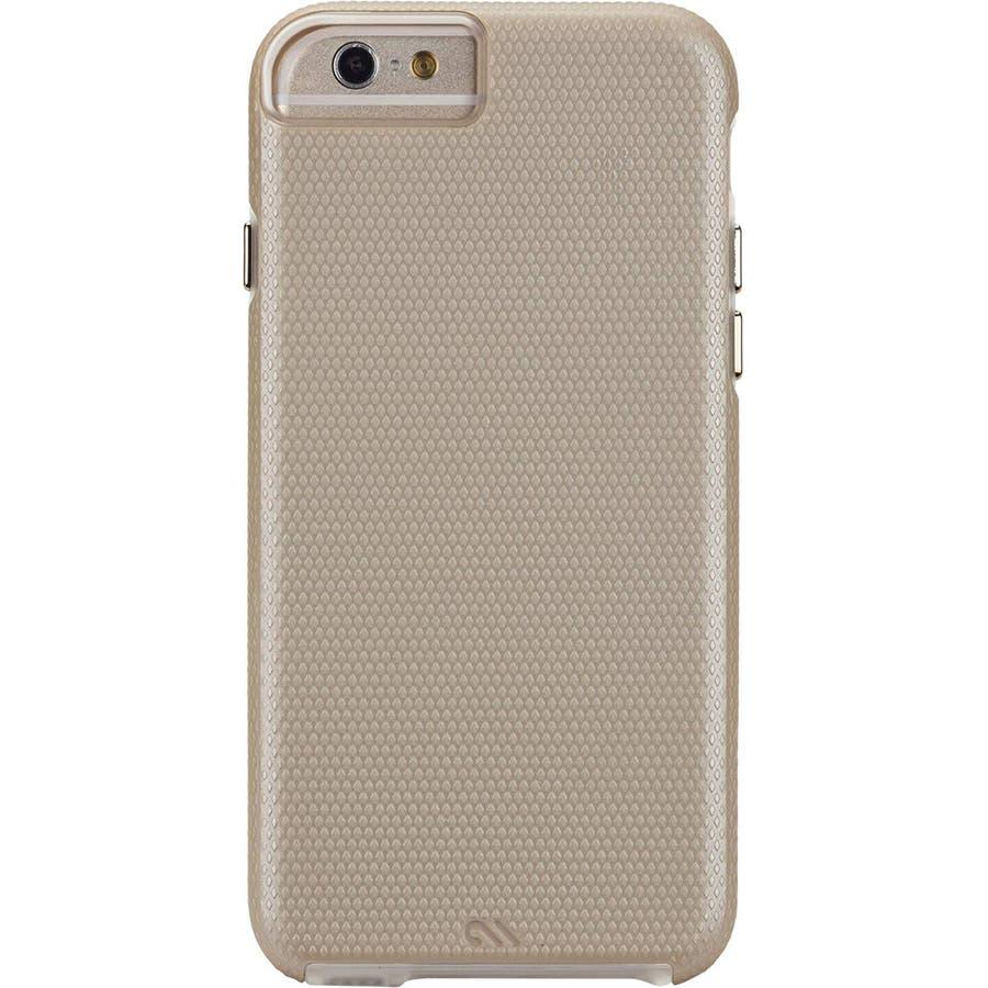 iPhone6s Plus/6 Plus 対応ケース Hybrid Tough Case, Gold / Clear 7