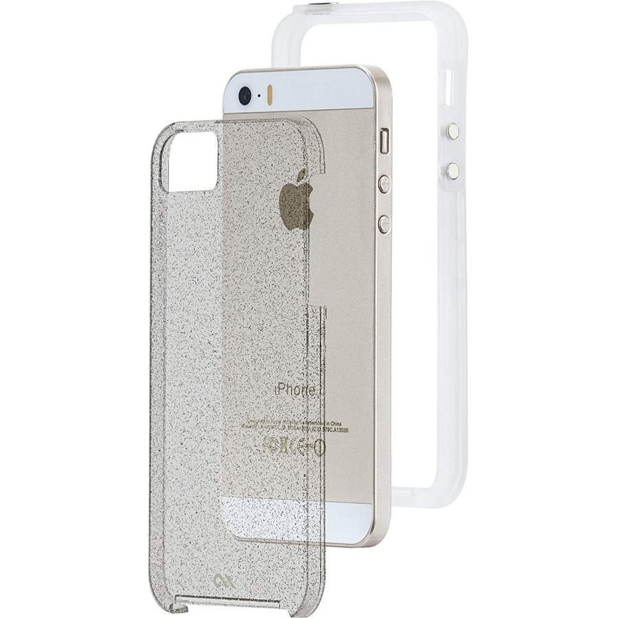 iPhone SE/5s/5 対応ケース Sheer Glam Case, Champagne Gold 1