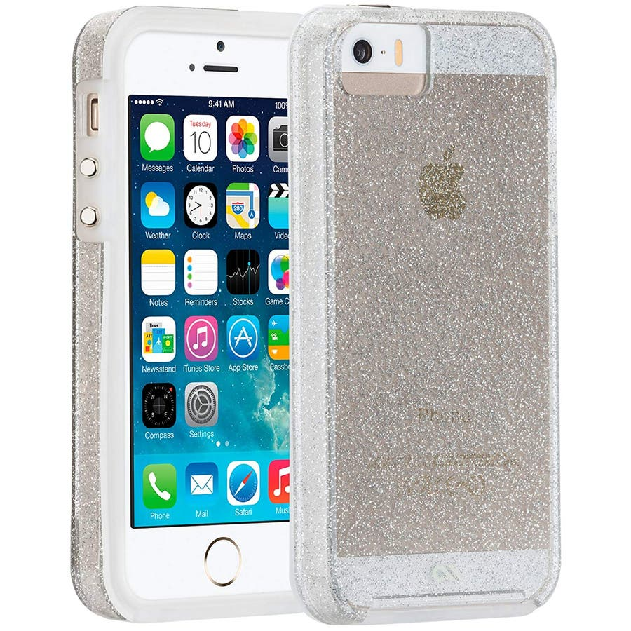 iPhone SE/5s/5 対応ケース Sheer Glam Case, Champagne Gold 2