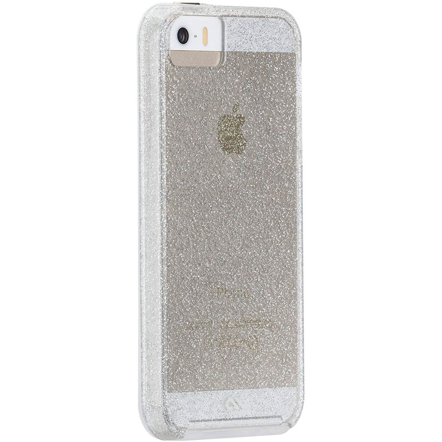 iPhone SE/5s/5 対応ケース Sheer Glam Case, Champagne Gold 5
